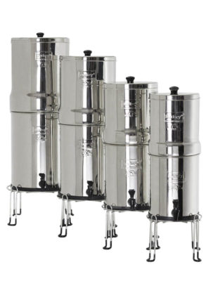 Basis voor Berkey waterfilers