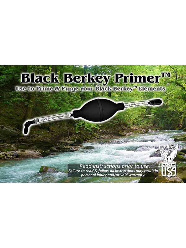 Black Berkey primer