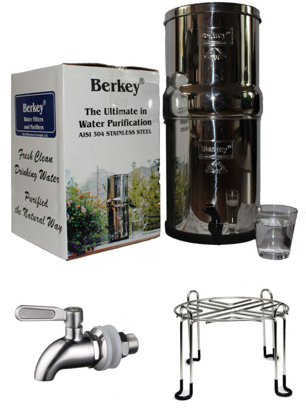 Berkey waterfilter set
